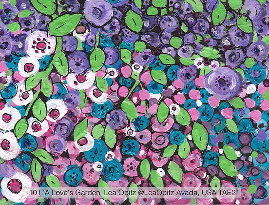 101 'A Love's Garden' Lea Opitz @LeaOpitz Avada, USA TAE21