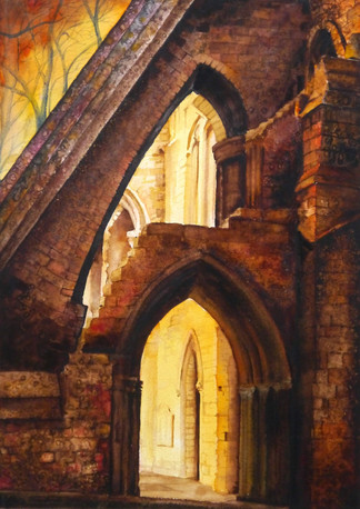 Pershore Abbey (©Lesley Brockbank)