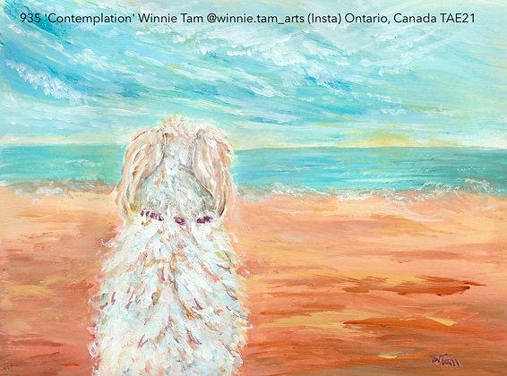 935 'Contemplation' Winnie Tam @winnie.tam_arts (Insta) Ontario, Canada TAE21