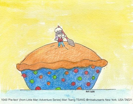 1043 'Pie-fect' Mari Tsang @mtsakuraarts New York, USA TAE21