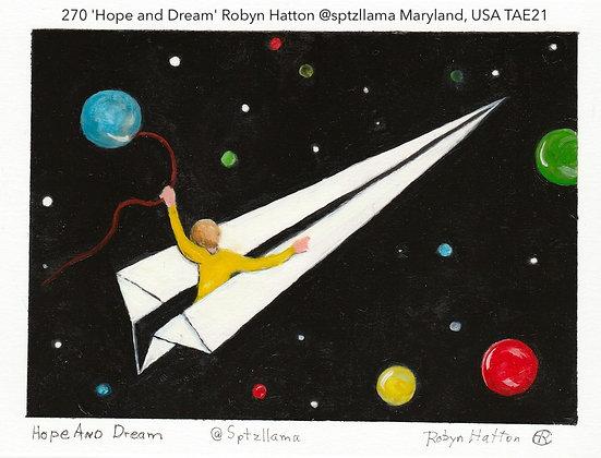 270 'Hope and Dream' Robyn Hatton @sptzllama Burtonsville, Maryland, USA TAE21