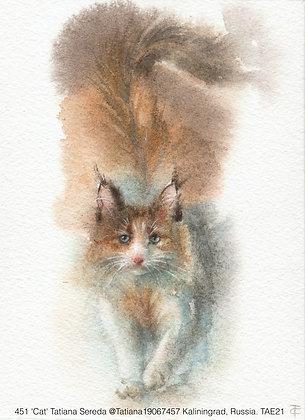 451 'Cat' Tatiana Sereda @Tatiana19067457 Kaliningrad, Russia TAE21