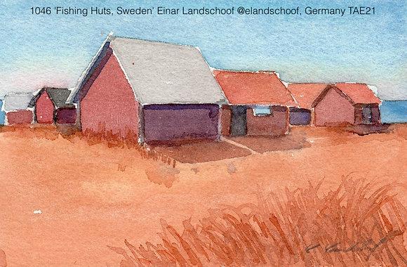 1046 'Fishing Huts, Sweden' Einar Landschoof @elandschoof, Germany TAE21