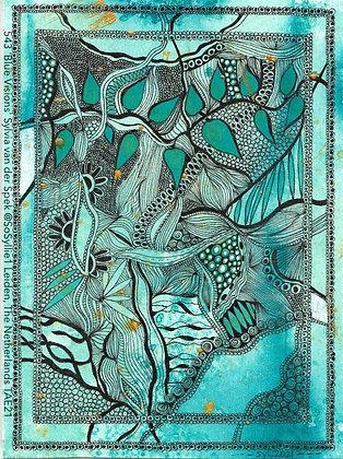 543 'Blue Visions' Sylvia van der Spek @SoSyllie1 Leiden, The Netherlands TAE21