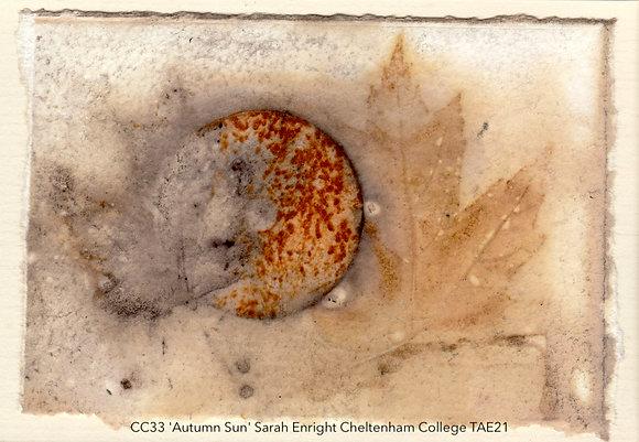 CC33 'Autumn Sun' Sarah Enright Cheltenham College TAE21