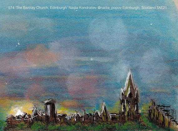 574 'The Barclay Church, Edinburgh' Nadia Kondratiev @nadia_popov Scotland TAE21