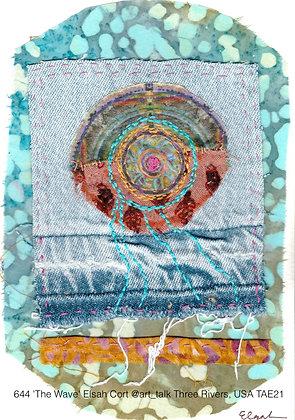 644 'The Wave' Elsah Cort @art_talk Three Rivers, USA TAE21