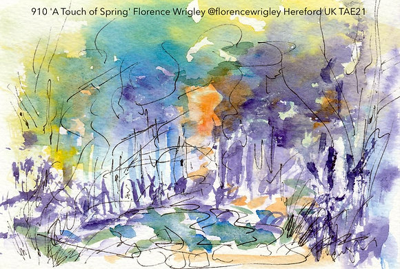 910 'A Touch of Spring' Florence Wrigley @florencewrigley Hereford UK TAE21