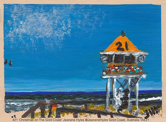 421 'Christmas on The Gold Coast' Jeanene Hyles @JeaneneHyles, Australia TAE21