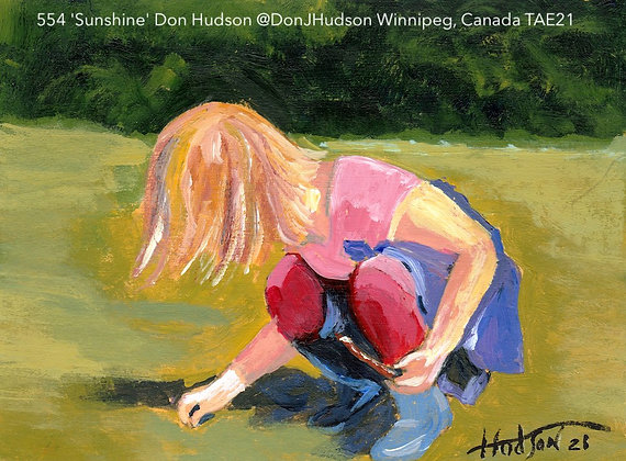 554 'Sunshine' Don Hudson @DonJHudson Winnipeg, Canada TAE21