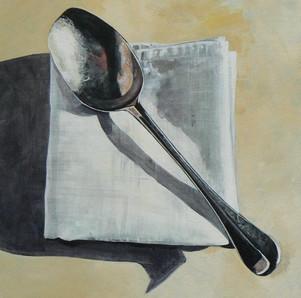 Grandma's Spoon and Napkin SOLD