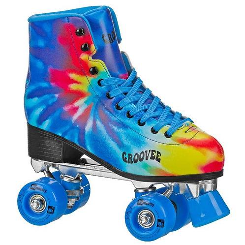 Groovee Burst Tie-Dye Roller Skates