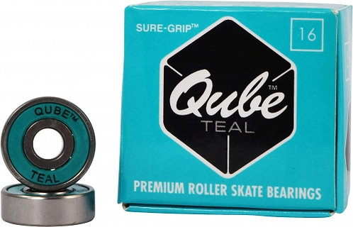 QUBE Teal Bearings for roller skates