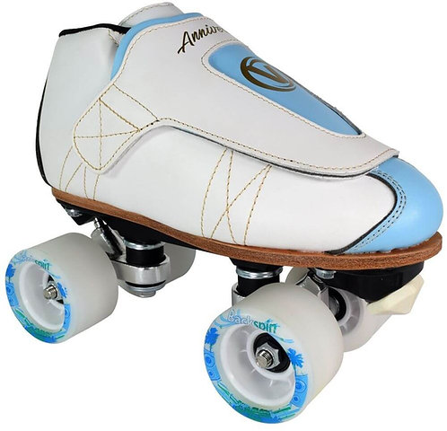 Vanilla Freestyle Anniversary Pro Roller Skate - blue and white