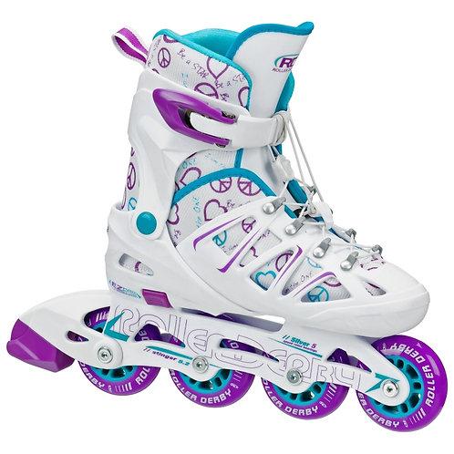 Stinger 5.2 Girls Size Adjustable Inline Skates