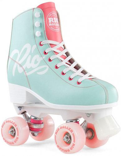 Rio Script - Teal Roller Skate
