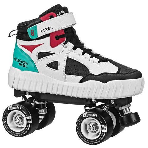 RollerDerby elite Glidr Sneaker Skate - Red/Black