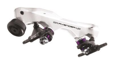 Sure-Grip Avenger Magnesium Plates - quad roller skate plate