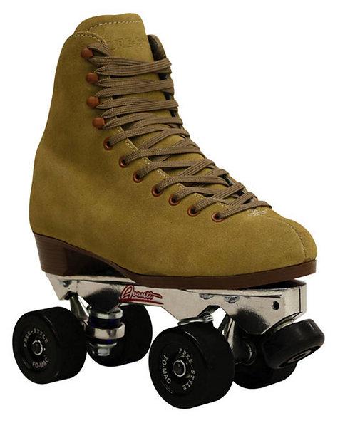 Sure-Grip 1300 Fo-Mac Freestyle tan outdoor rhythm roller skate