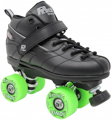 Rock GT-50 Sonic Outdoor roller skates with green wheels