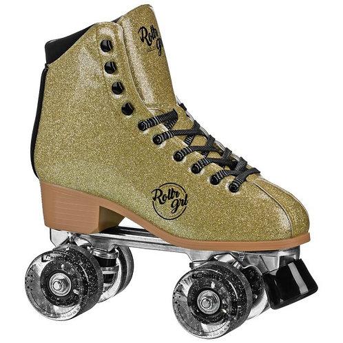 Rollr Grl Astra - Freestyle Roller Skates - Gold/Black
