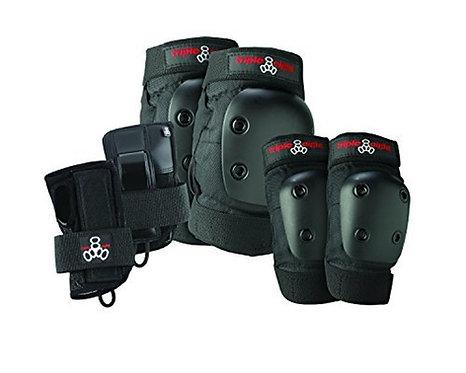 Triple - 8 Jr. Derby Tri-Pack - skate protective gear