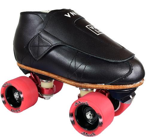 Vanilla Freestyle Pro skates - black with red Uprock wheels