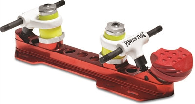 Power-Trac Plates - roller skate plate - red