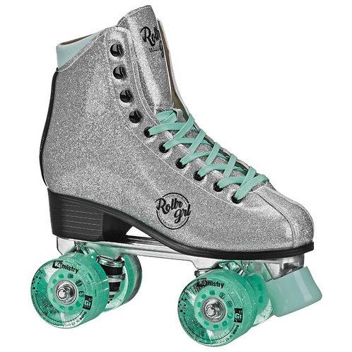 Rollr Grl Astra - Freestyle Roller Skates - Silver/Black