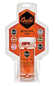 QUBE Citrus Bearing Cleaner for skate bearings
