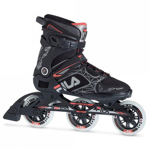 Fila Legacy Pro 100 Men's  black and red inline skate
