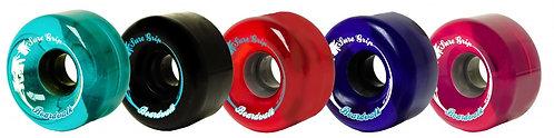 Sure-Grip Boardwalk Outdoor Skate Wheels - multi-colors