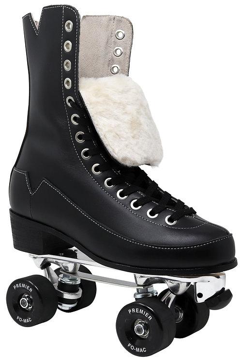 VNLA Godfather Century Premier black high top roller skate