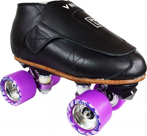 Vanilla Freestyle Pro Skate with purple Backspin Deluxe Wheels