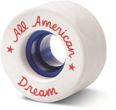 All American Dream Wheels - white