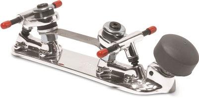 Snyder Super Deluxe Plates - quad roller skate plate