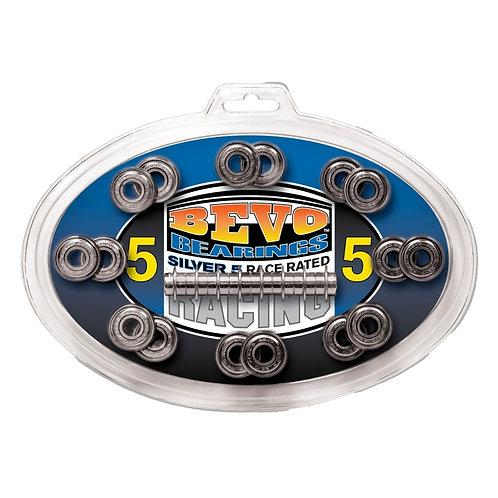 Bevo Silver-5 Race Rated Chrome roller skate Bearings