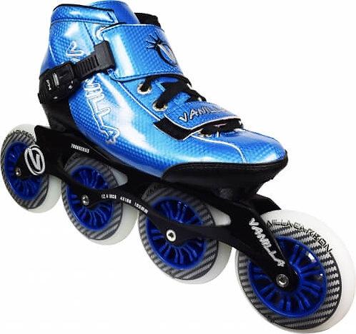 Vanilla Carbon Inline Speed Skate - blue