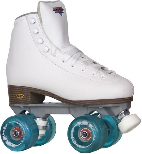 Sure-Grip Fame with Boardwalk Outdoor Wheels- white