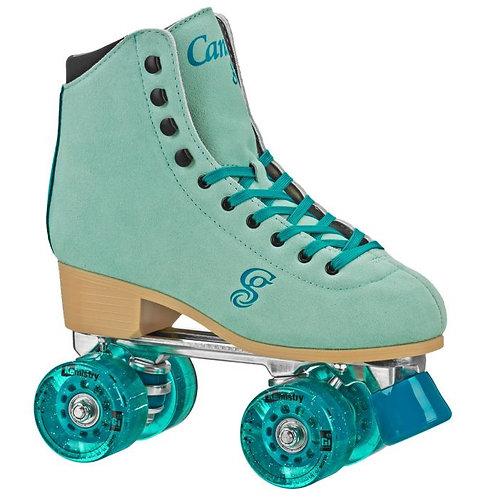 Candi Girl Carlin Indoor/Outdoor Roller Skates - Green/Blue