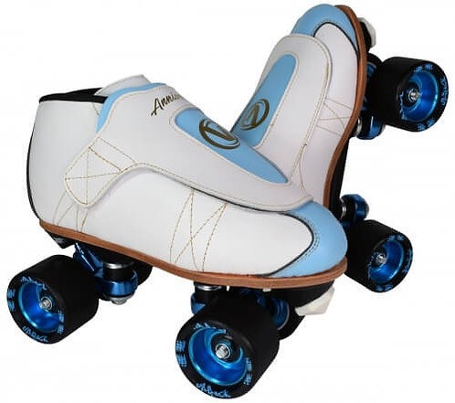 Vanilla Freestyle Anniversary Pro Plus Jam Skates - blue and white