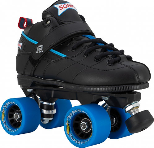 Sonic Super Fly Roller Skates - with blue wheels