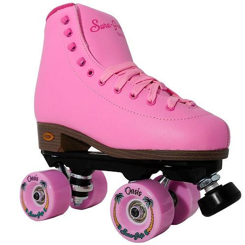 Sure-Grip Fame Pink PassionOutdoor Skates