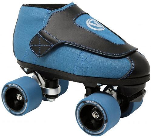 Vanilla Junior Code Blue jam roller skates
