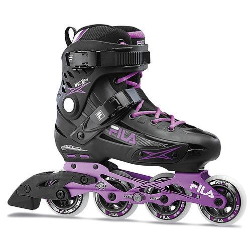 FILA Madame Houdini Black/Violet Inline Skates