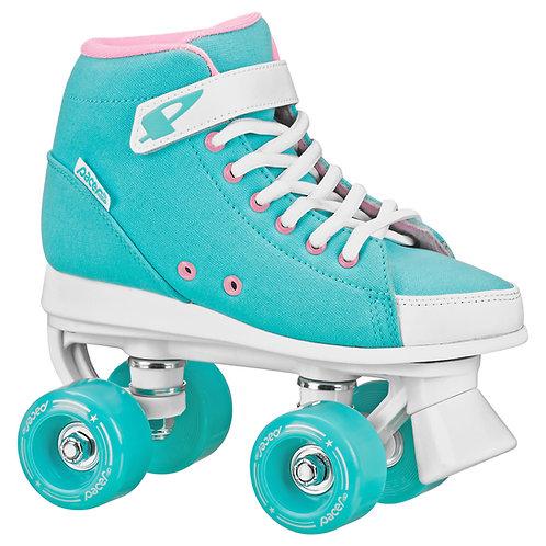 Pacer Scout ZTX kids roller skates in Seafoam (teal)