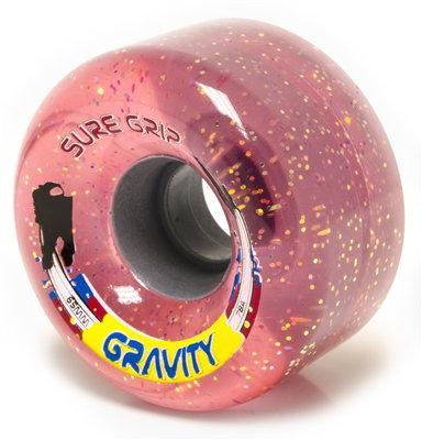 Gravity - Glitter Outdoor roller skate wheels - pink
