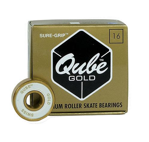 QUBE Swiss Gold Bearings roller skates