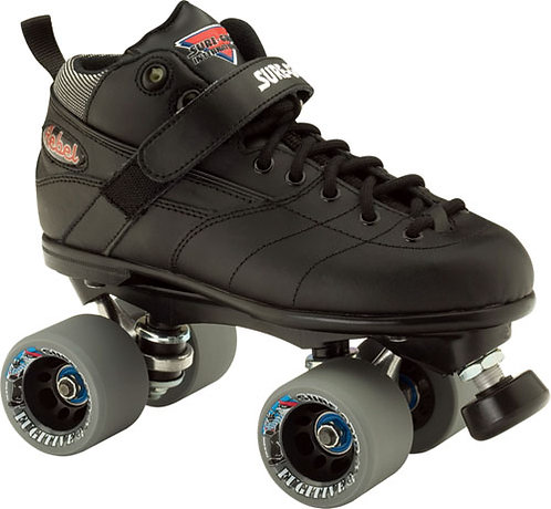 Sure-Grip Rebel Fugitive roller skates - black