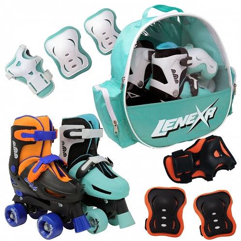 Lenexa Go-Gro Adjustable Skate Combo